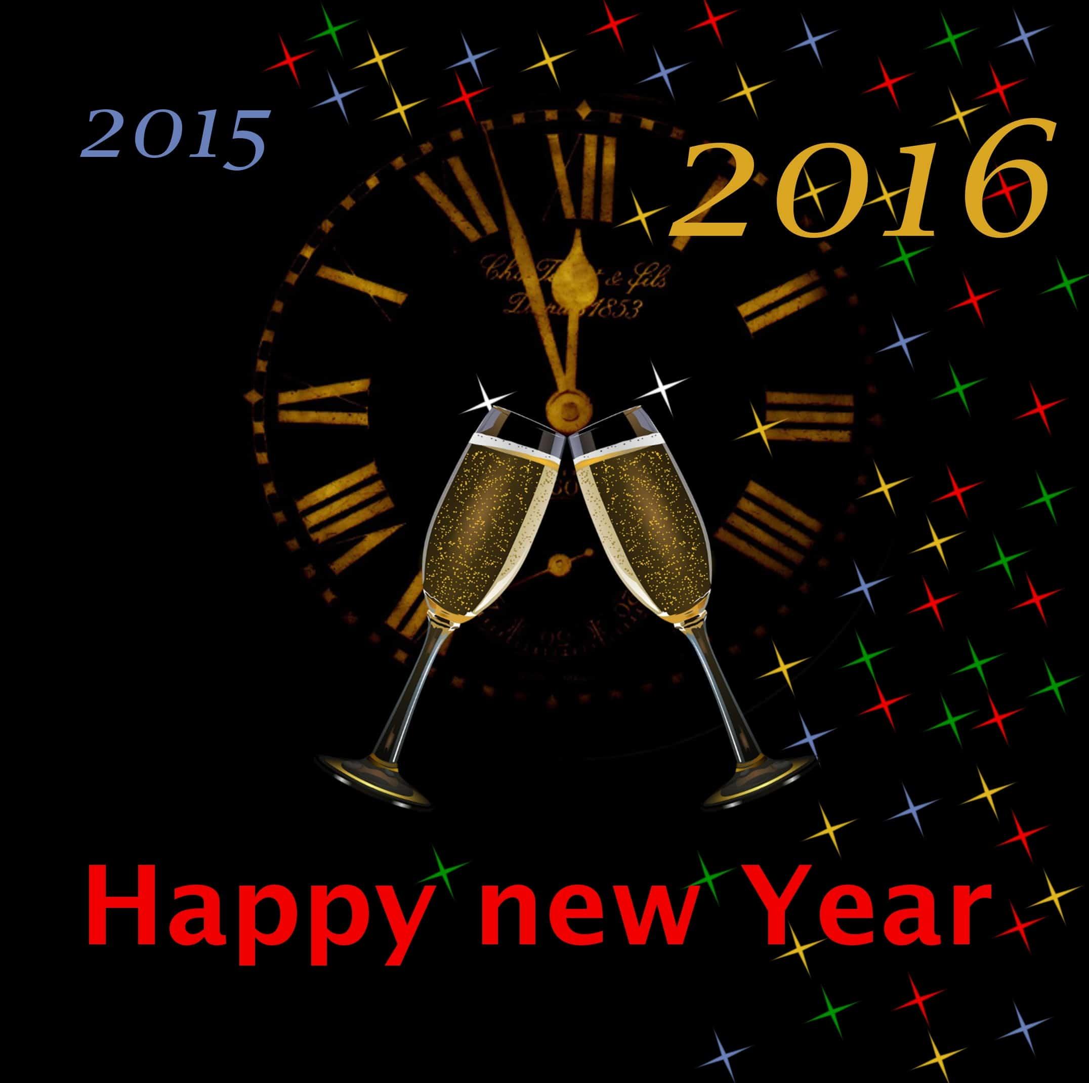 Guter Rutsch ins neue Jahr 2016